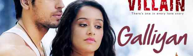 Teri Galliyan - Ek Villain Guitar Chords and tabs