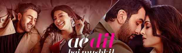 Ae dil hai Mushkil - Title track Guitar chords